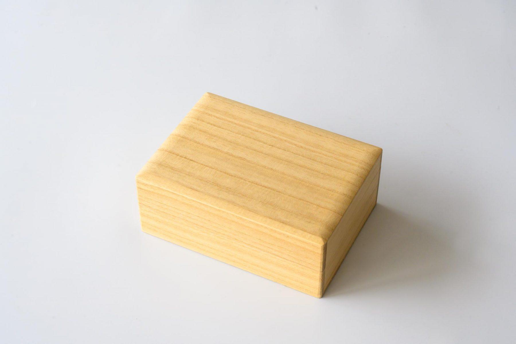 キーホルダーのケース(桐箱)
